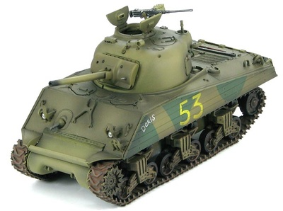 "M4A3 Sherman 4th Marine Tank Battlion, Iwo Jima, Feb 1945 ""Doris"", 1:48, Hobby Master"