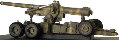 M59 59 Long Tom Camo Version, US Army, 1:32, 21st Century
