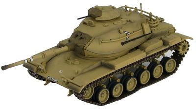 M60A1 Patton Tank, Fuerzas de Defensa de Israel, Sinai, 1973, 1:72, Hobby Master