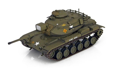 M60A1 Patton Tank 3rd Armored Division, Alemania, 1960s, 1:72, Hobby Master