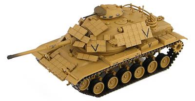 M60A1 con armadura reactiva, USMC 525012, operación Tormenta del Desierto, 1:72, Hobby Master