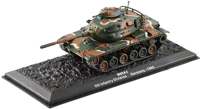 M60A3, 5th Infantry Division, Alemania, 1985, 1:72, Altaya