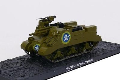 "M7 105 mm HMC ""Priest"" U.S Army, Sicily (Italy) 1943, 1:72, Altaya"