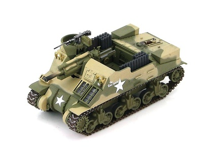 M7 Priest HMC Cannon Co. 34th Division, Rabat, Marruecos, 1943, 1:72, Hobby Master