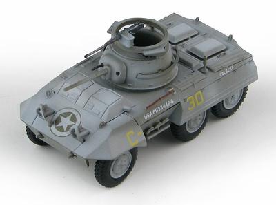 M8 Greyhound C-30, Bosque de las Ardenas, 1944, 1:72, Hobby Master