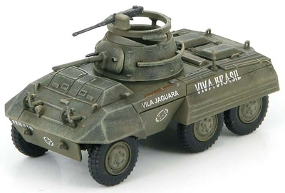 M8 Light Armored Car, First Brasilian Expeditionary Force, Italy 1944, 1:72, Hobby Master