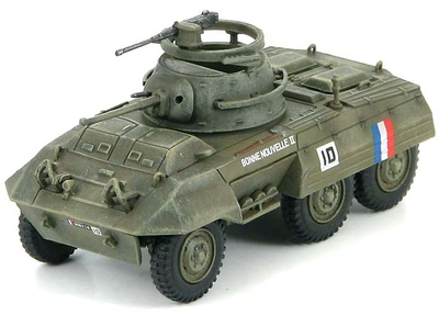 M8 Light Armored Car French Army, Germany 1944, 1:72, Hobby Master