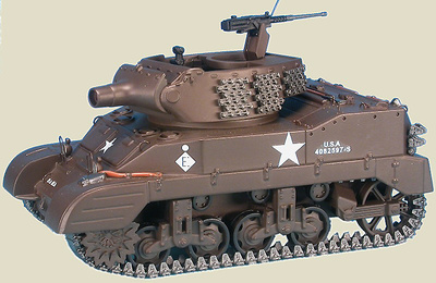 M8 Scott 75 mm Howitzer Motor Carriage, 12th US Armored Div. Alsace, Francia, Enero, 1945, 1:48, Gasoline