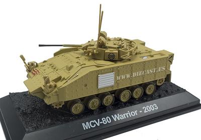 MCV-80 Warrior, Reino Unido, 2003, 1:72, Amercom