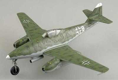 ME262 A-2a 9K+BH 1./KG51, Rheine, Septiembre, 1944, 1:72, Easy Model