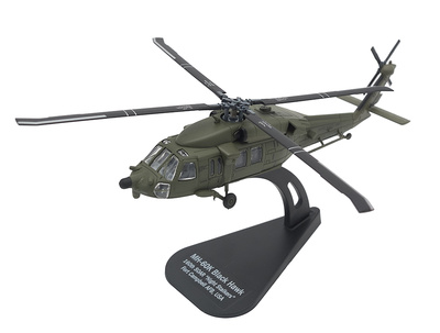 "MH-60K Black Hawk, 160th SOAR ""Night Stalkers"", Base Aérea Fort Campbell, USA, 1:100, Italeri"