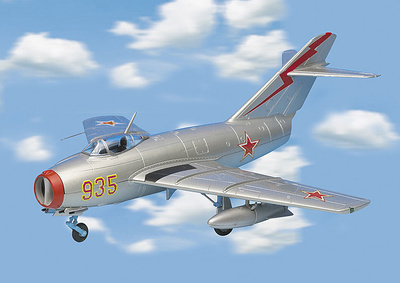 MIG-15 FAGOT, Russian Air Force, 1:48, Franklin Mint