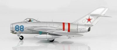 "MIG-17 ""Fresco A"" Blue 88, Fuerza Aérea Soviética, ""Invasión de Checoslovaquia"", Agosto, 1968, 1:72, Hobby Master"