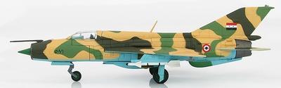 MIG-21FL 5081, United Arab Republic, Egyptian Air Force, Guerra de los Seis Días, 1967, 1:72, Hobby Master