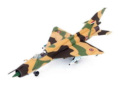 MIG-21FL 5081, United Arab Republic, Egyptian Air Force, Guerra de los Seis Días, 1967, 1:72, Hobby Master
