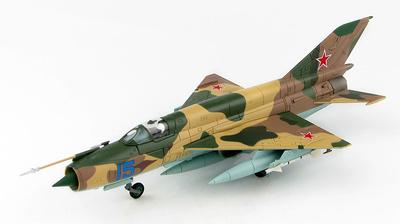 MIG-21MT Blue 15, Dolgoye Ledovo, Rusia, años 70, 1:72, Hobby Master