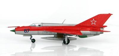 "MIG-21PFM ""Aerobatic Team"" No. 67, Fuerza Aérea Soviética, Kubinka AFB, 1967, 1:72, Hobby Master"