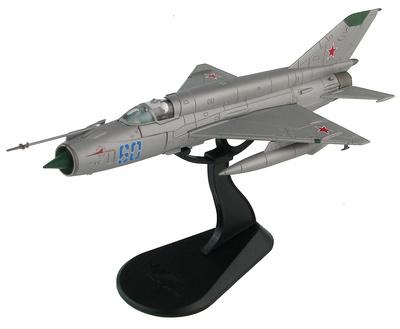 MIG-21SMT Blue 60, 296 IAP, Fuerza Aérea Soviética, 1980, 1/72, Hobby Master