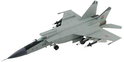 """MIG-25PD """"Foxbat"""" 5th Aerial Squadron AF, Tiyaz AB, 1985, 1:72, Hobby Master"""
