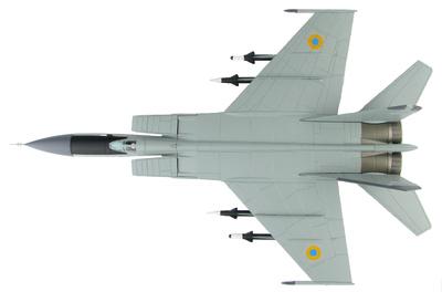 "MIG-25PD ""Foxbat"" Red 49, 146th Fighter Aviation Regiment, Fuerza Aérea Ucraniana, 1995, 1:72, Hobby Master"