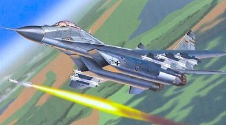 MIG29 FULCRUM GERMAN, 1:48, Franklin Mint