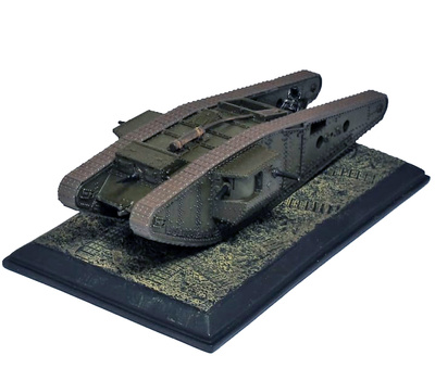 MK-IV, carro de combate británico, tanque Tadpole, 1918, 1/72, Wings of the Great War
