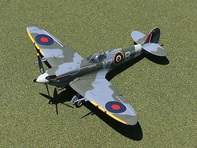 "MK.IX Spitfire, Supermarine, ""Buzz Buerling"", 1:72, Gemini Aces"