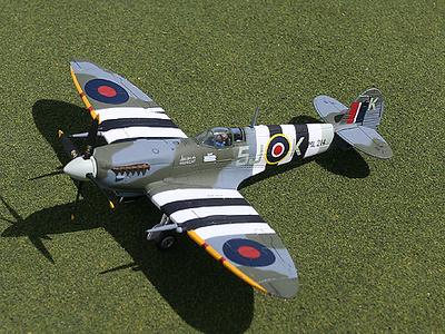 "MK.IX Spitfire, Supermarine, ""Plagis"", 1:72, Gemini Aces"