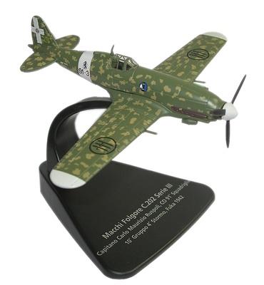 Macchi Folgore C.202 Serie III, Fuka 1942, 1:72, Oxford