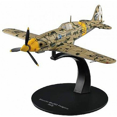 Macchi MC.202 Folgore, Regia Aeronautica, 1:72, DeAgostini