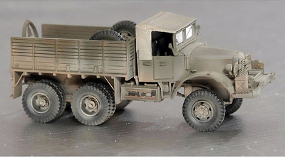 Mack 2, 7,5 Ton, 6x6, 1943, 1:72, Wespe Models