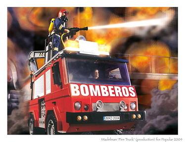 Madelman Camión de Bomberos