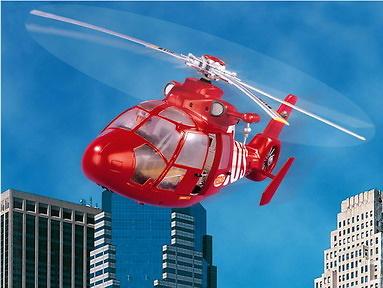 Madelman Helicóptero de Salvamento