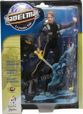 Madelman Rescate Submarino (blister)