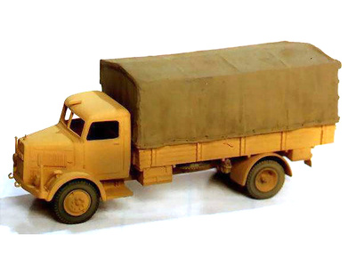Man 4500 S, 1:72, Wespe Models