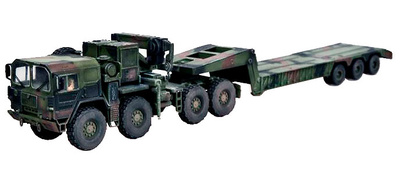 Man KAT1M1014 with semi-trailer M870A1, Germany, 1:72, Modelcollect