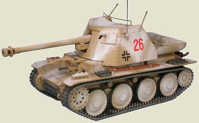 "Marder III Ausf.H 7.5 cm Pak40, 1.Pz.Gren.Div. ""LAH"" Kharkov, 1943, 1:48, Gasoline"