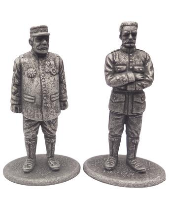 Mariscal de Francia Joseph Joffre y General de División Hubert Lyautey, 1:24, Atlas Editions