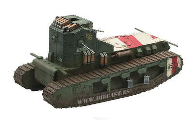 "Mark A,  Whippet Tank,  ""Musical Box""  A/6 344 , Amiens Offensive,  August, 1918, 1:30, John Jenkins"