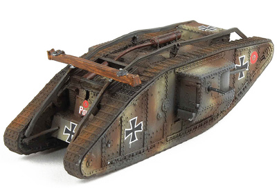 """Mark IV, """"Male"""" Tank, (Captured), british tank, 1917, 1/72, Wings of the Great War"""