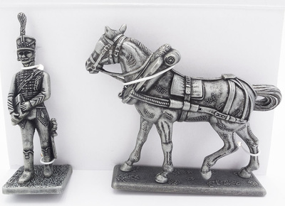 Marshal Joachim Murat's Assistant, Napoleon's Baggage Horse, 1:24, Atlas Editions