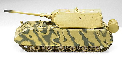 Maus, color verde y marrón, Ejército Alemán, 1:72, Easy Model