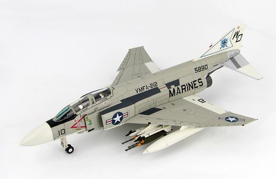 McDonnell Douglas F-4J Phantom 155890, VMFA-212, USMC, circa 1970s, 1:72, Hobby Master