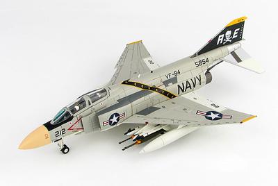 McDonnell Douglas F-4J Phantom II 155854, VF-84, USS Franklin D. Roosevelt, circa 1972, 1:72, Hobby Master