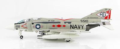 "McDonnell Douglas F-4J Phantom II BuNo.155510, VF-102 ""Diamondbacks"", USS Independence (CV-64) , 1976, 1:72, Hobby Master"