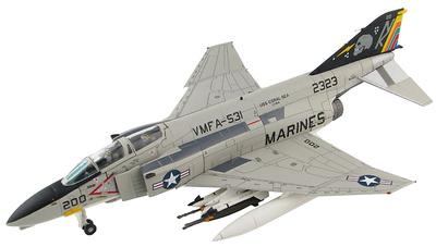 "McDonnell Douglas F-4N Phantom II 152323, VMFA-531 ""Gray Ghosts"", USS Coral Sea, 1:72, Hobby Master"
