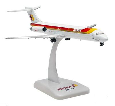 "McDonnell Douglas MD-87 Iberia ""Ciudad de Zaragoza"", 1:200, Hogan"