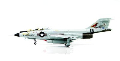 McDonnell F-101B Voodoo 58-0339, Oregon ANG, 123rd FIS, 1970s, 1:72, Hobby Master