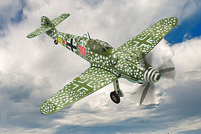 Me-109G Messerschmitt, Luftwaffe IV/JG 5 , 1:48, Franklin Mint