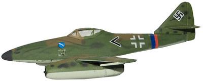 Me-262 Schwalbe, 1:100, Italeri